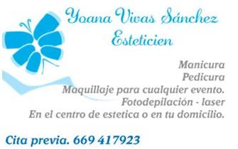 Yoana Vivas Esteticién