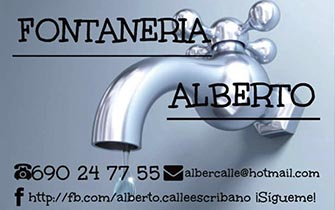 Fontanería Alberto