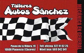 Talleres Autos Sánchez